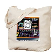 Low Tech Power Failure Back Up Tote Bag