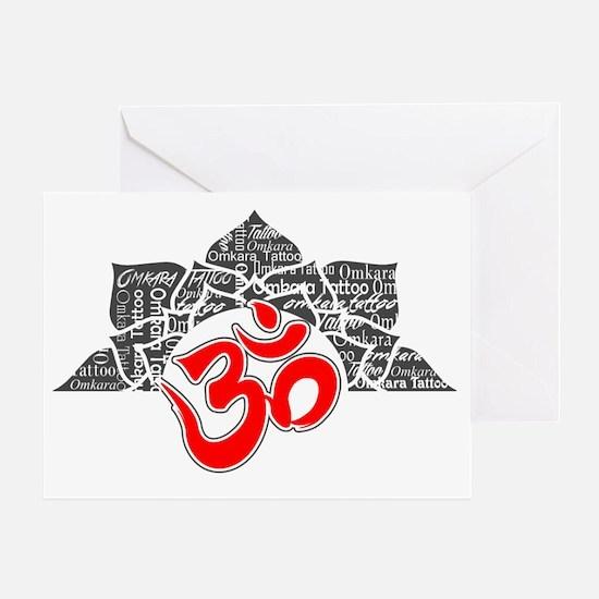 Omkara Logo 2 Greeting Card