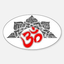 Omkara Logo 2 Decal