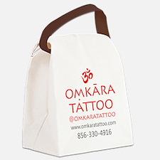 Omkara Tattoo Type Canvas Lunch Bag