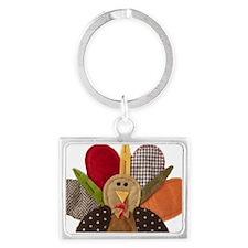 gobbler-Thanksgiving Landscape Keychain