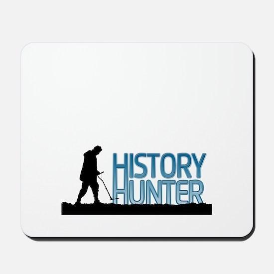 Metal Detecting History Hunter Mousepad