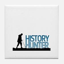 Metal Detecting History Hunter Tile Coaster