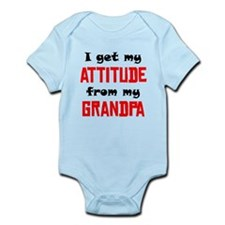 I Get My Attitude From My Grandpa Body Suit