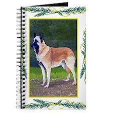 Belgian Sheepdog Christmas Journal