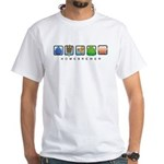 Homebrew Beer Makers White T-Shirt