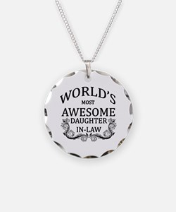 World's Most Awesome Daughter-In-Law Necklace
