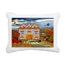 Samhain Cottage Rectangular Canvas Pillow