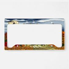 Samhain Cottage License Plate Holder