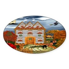 Samhain Cottage Decal