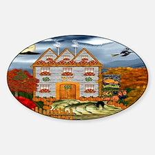 Samhain Cottage Decal