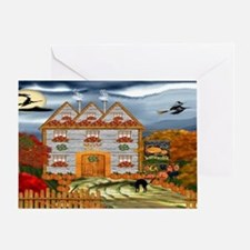 Samhain Cottage Greeting Card