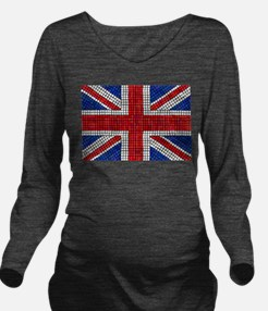 UNION JACK Long Sleeve Maternity T-Shirt