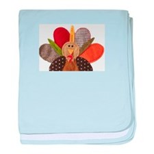 gobbler-Thanksgiving baby blanket