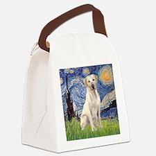StarryNight (T) - YellowLab7 Canvas Lunch Bag