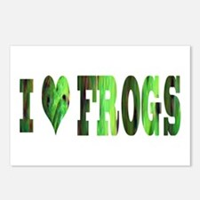 i love frogs Postcards (Package of 8)