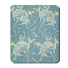 William Morris Tulip Design Mousepad