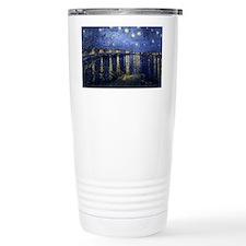 Van Gogh Starry Night Over The  Travel Mug