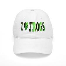 i love frogs Baseball Cap