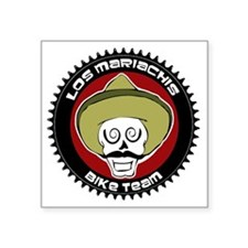 "los mariachis logo 22 copy Square Sticker 3"" x 3"""