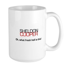 Sheldon Cooper's Oh, What Fresh Hell is This Mug
