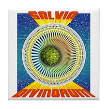 Salvia 2 Tile Coaster