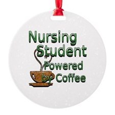 coffee nursing student Ornament