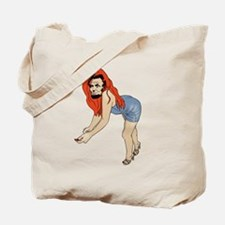 Baberaham Lincoln Tote Bag