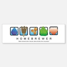 Homebrew Beer Makers Bumper Bumper Bumper Sticker