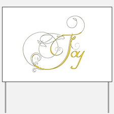 Joy Yard Sign