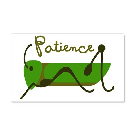 Patience Car Magnet 20 x 12