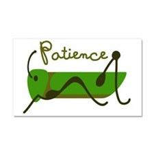 Patience Car Magnet 20 x 12
