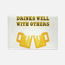 Drinks Well With Others Magnets
