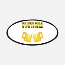 Drinks Well With Others Patches