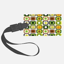 MCM 222 squares BLANKET Luggage Tag