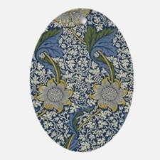 William Morris Kennet  Oval Ornament