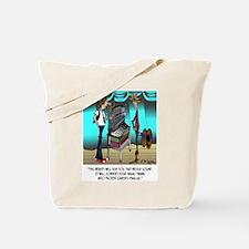 Convert Nasal Twang Into Queen's English Tote Bag