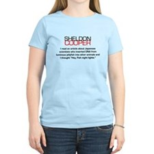 Sheldon Cooper's Fish Night Lights T-Shirt