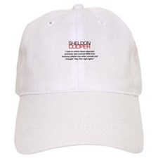 Sheldon Cooper's Fish Night Lights Baseball Cap