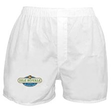 Isle Royale National Park Boxer Shorts