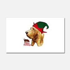 Bloodhound happy holidays by madeline wilson Car M