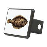 Flounder fish Hitch Covers