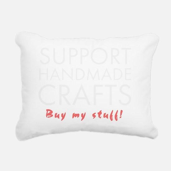 Support handmade light Rectangular Canvas Pillow