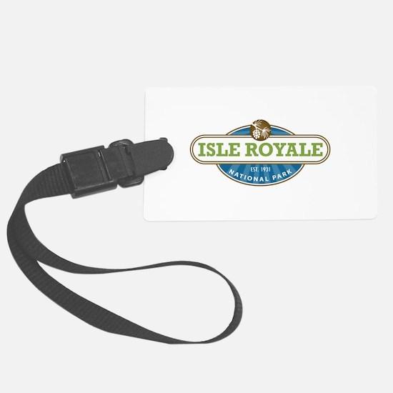 Isle Royale National Park Luggage Tag