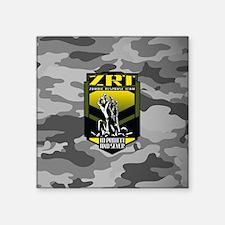 "Zombie response team zombie Square Sticker 3"" x 3"""