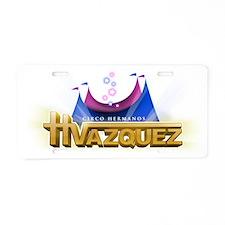 circovazquez Aluminum License Plate