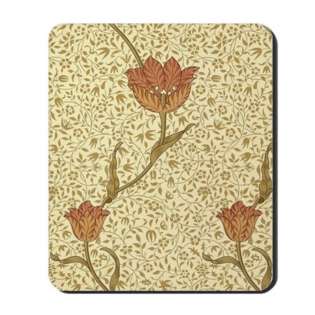 William Morris Garden Tulip Mousepad