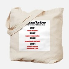 Zombie survival rules Zombie hunter  resp Tote Bag