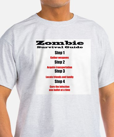 Zombie survival rules Zombie hunter  T-Shirt