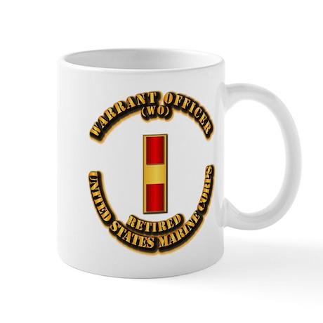 USMC - WO - Retired Mug